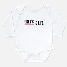 Grey's Is Life Long Sleeve Infant Bodysuit