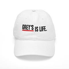 Grey's Is Life Baseball Cap