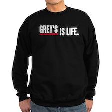 Grey's Is Life Sweatshirt (dark)