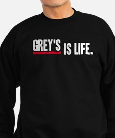 Grey's Is Life Sweatshirt (dark)