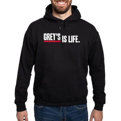 Grey's Is Life Hoodie (dark)