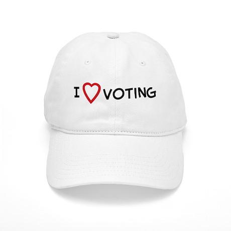 I Love Voting Cap