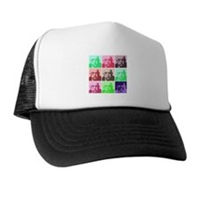 Aleister Crowley in Color Trucker Hat
