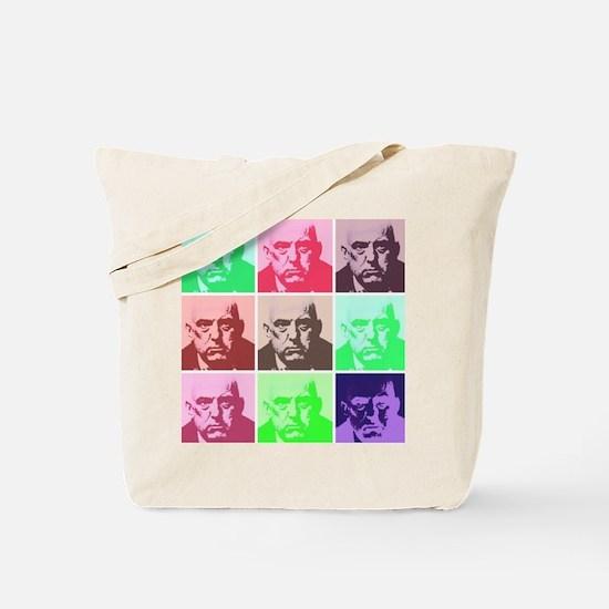 Aleister Crowley in Color Tote Bag