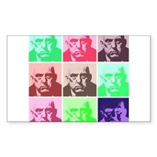 Aleister Crowley in Color Decal