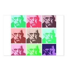 Aleister Crowley in Color Postcards (Package of 8)