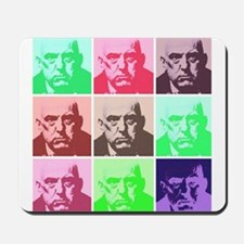 Aleister Crowley in Color Mousepad