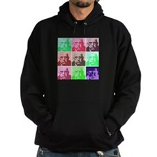 Aleister Crowley in Color Hoodie
