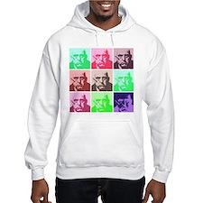 Aleister Crowley in Color Hoodie