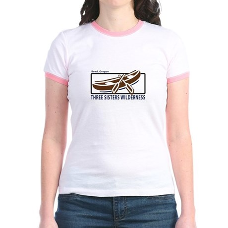 Three Sisters Wilderness Jr. Ringer T-Shirt