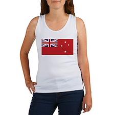 New Zealand Civil Ensign Women's Tank Top