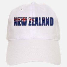 New Zealand Baseball Baseball Cap