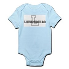 Letter L: Luxembourg Infant Creeper