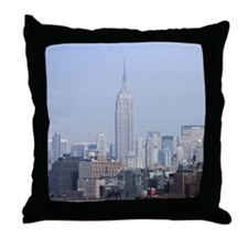 Cute Big apple Throw Pillow