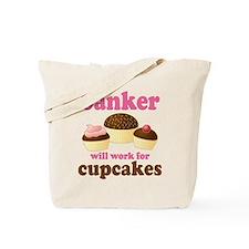 Funny Banker Tote Bag