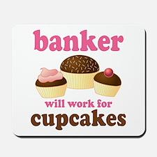 Funny Banker Mousepad