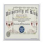 University of Kink Tile Coaster