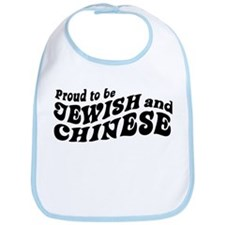 Proud to be Jewish and Chinese Bib