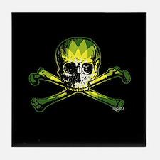 BP Pirate Flag Tile Coaster