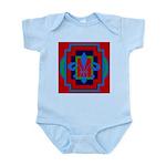 Fleur De Lis Art Deco 2 Infant Bodysuit