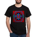Fleur De Lis Art Deco 2 Dark T-Shirt