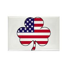 'American Shamrock' Rectangle Magnet