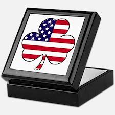 'American Shamrock' Keepsake Box