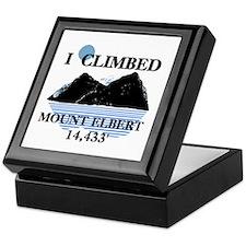 I Climbed Mount Elbert Keepsake Box