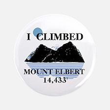 "I Climbed Mount Elbert 3.5"" Button"