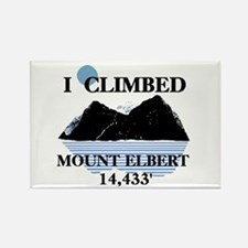 I Climbed Mount Elbert Rectangle Magnet
