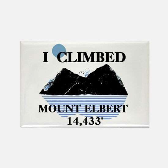I Climbed Mount Elbert Rectangle Magnet