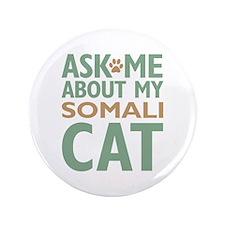 """Somali Cat 3.5"""" Button"""