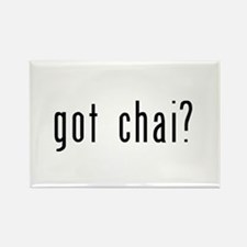 got chai? Rectangle Magnet