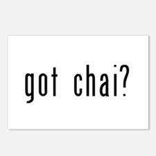 got chai? Postcards (Package of 8)