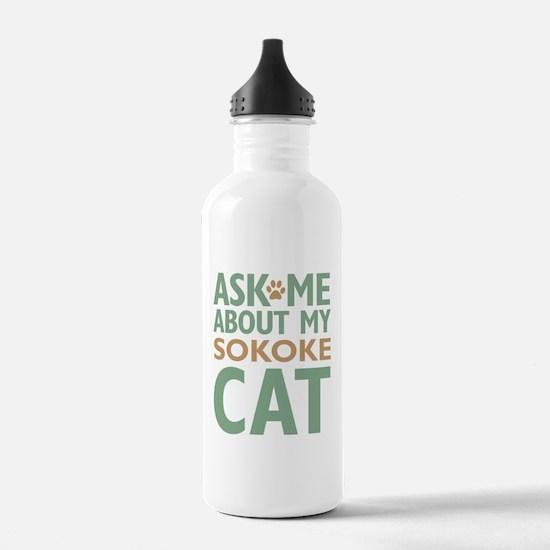 Sokoke Cat Water Bottle