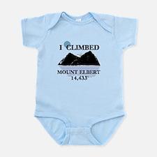 I Climbed Mount Elbert Infant Bodysuit