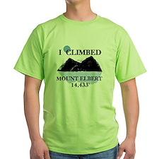 I Climbed Mount Elbert T-Shirt
