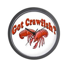 Got Crawfish Wall Clock