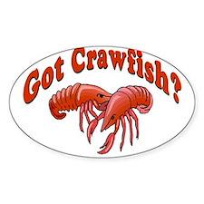 Got Crawfish Decal