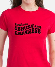 Proud to be Jewish and Japanese Tee
