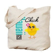 Hawaii Chick Tote Bag