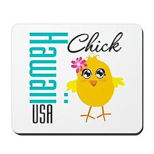 Hawaii Chick Mousepad