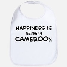 Happiness is Cameroon Bib