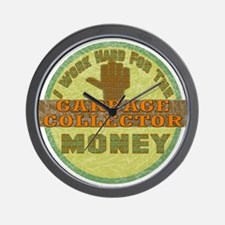 Garbage Collector Wall Clock