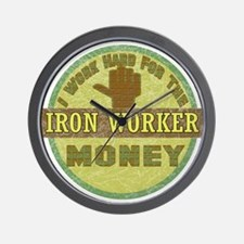 Iron Worker Wall Clock