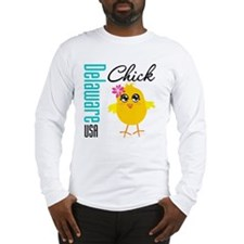 Delaware Chick Long Sleeve T-Shirt