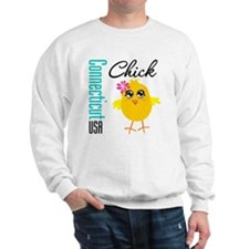Connecticut Chick Sweatshirt