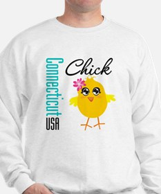 Connecticut Chick Sweatshirt