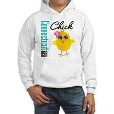 Connecticut Chick Hoodie