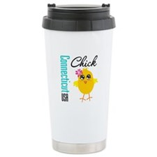 Connecticut Chick Travel Mug
